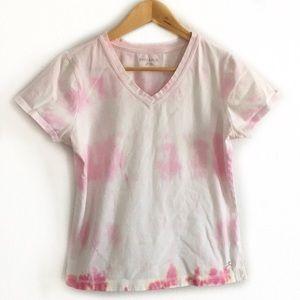 Youth girls 8-10 tie dye tee shirt pastel custom